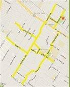 bike ped map