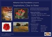 Atherton Arts Foundation flyer