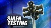 Siren Testing