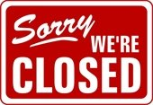 Closed Notice