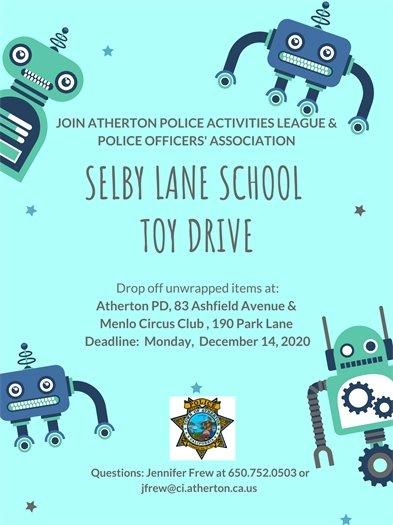 Atherton PD Toy Drive