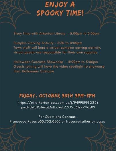 Atherton Virtual Halloween page 2