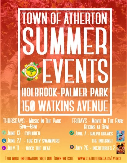 Town of Atherton Annual Events