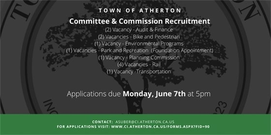Annual Committee & Commission Recruitment