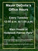 Mayor DeGolia Office Hours