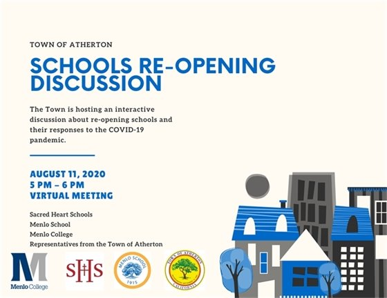 Atherton Schools Re-Opening