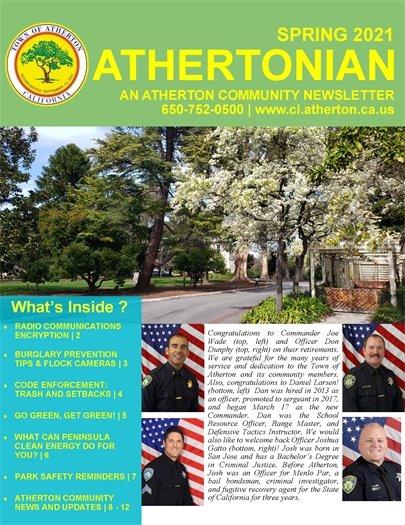 Athertonian Spring 2021