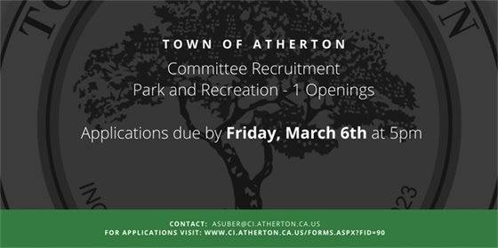 Park and Recreation Recruitment