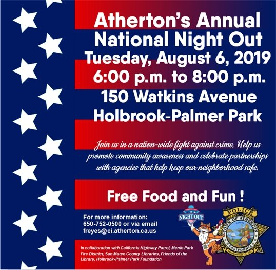National Night Out Flyer_Atherton_2019