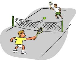 tennis match clip art