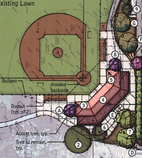 Color Rendition - Little League Facility