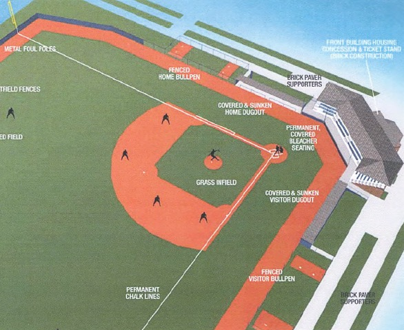 Color Rendition - 2011 Little League Facility