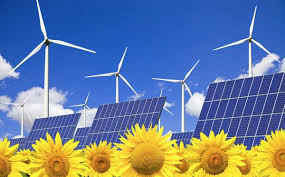 solar and wind