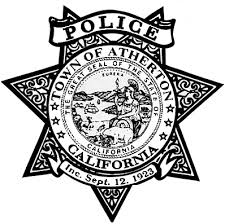 Town of Atherton Police Badge