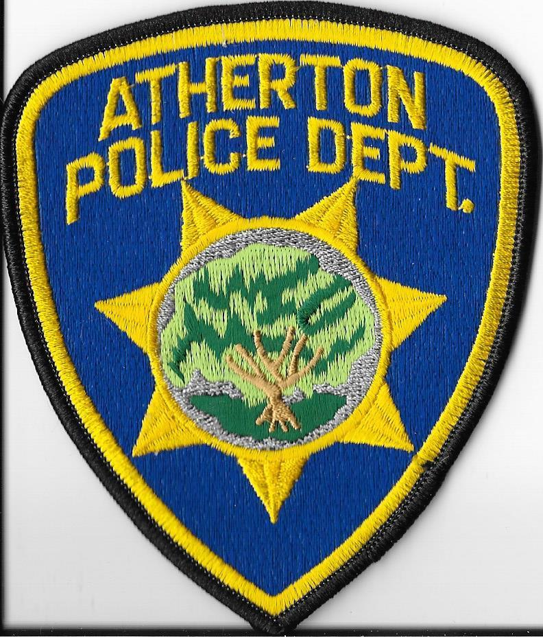 Atherton-Police-Department-California-Shoulder-Patch