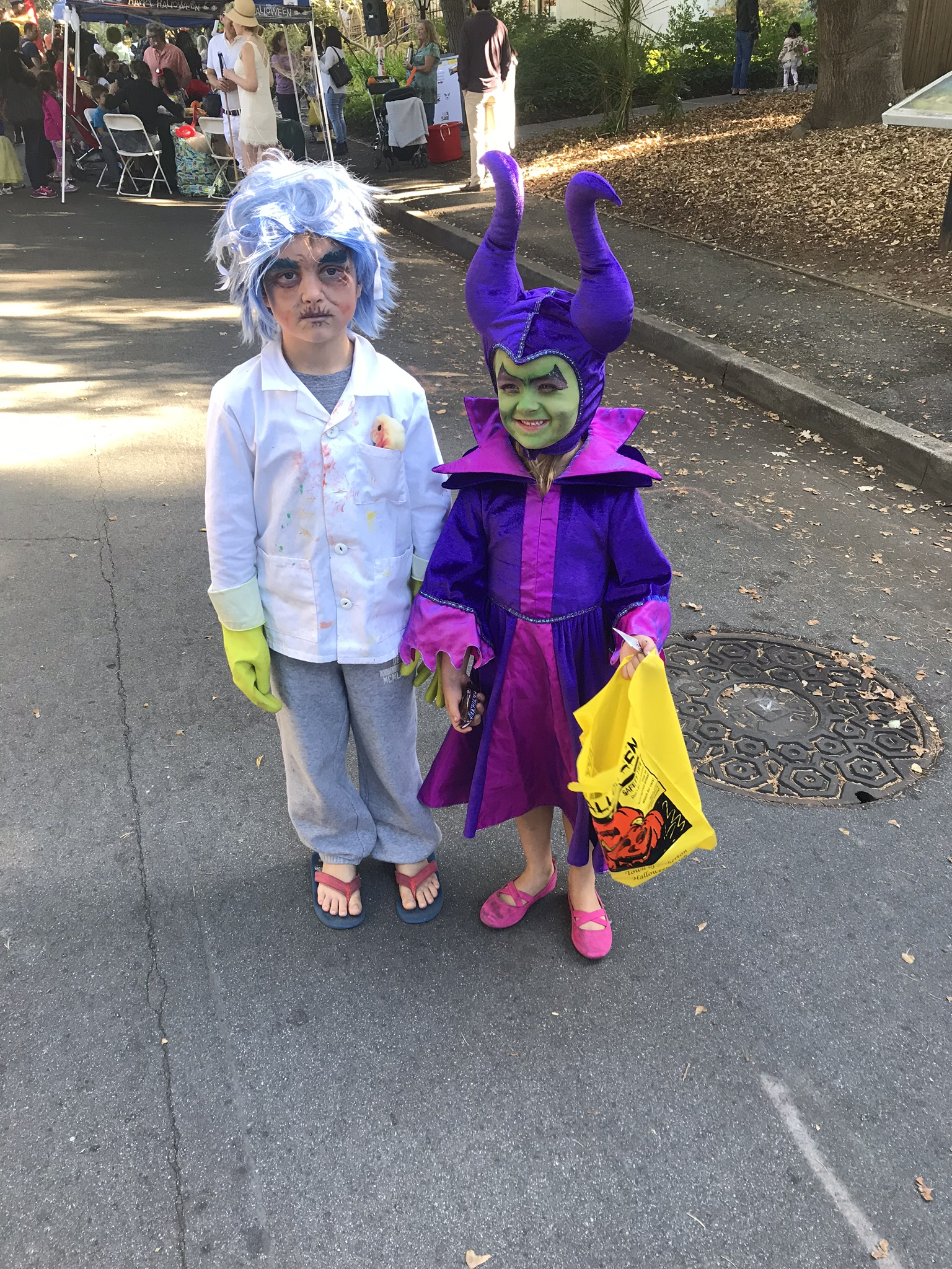 Mad Scientist and Maleficent