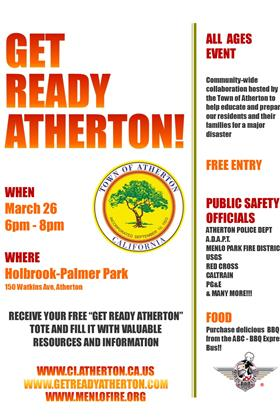 Get Ready Atherton Flyer 2015